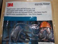 3M Rugged Comfort Quick Latch Half Facepiece Reusable Respirator 6501QL/49488...