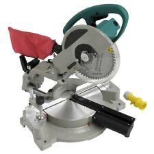 """Heavy Duty 110 V 1800 W 10"""" 254 mm Coulissant Laser Compound Mitre Table de découpe scie"""