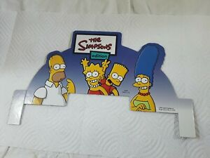 Design Card For The Simpsons Edition Jeopardy Game 2003 Replacement Part