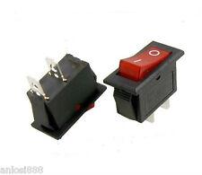 3PCS×2 Pins Rocker Switch 16A 250VAC ON-OFF SPST NEW