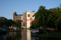 PHOTO  NETHERLANDS LEIDEN CANAL  VIEW