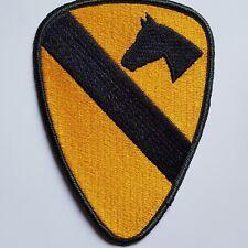 U.S. ARMY UNIFORM AUFNÄHER PATCH 1ST CAVALRY DIVISION FULL COLOR ORIGINAL