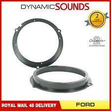CT25FD10 165mm Front/Rear Door Speaker Adaptor Kit Rings For Ford Fiesta 2008>