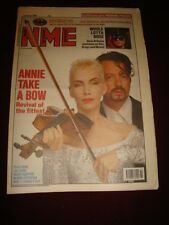 NME 1989 AUGUST 12 EURYTHMICS BATMAN CLASH GUNS N ROSES REM ALICE COOPER ESTEFAN