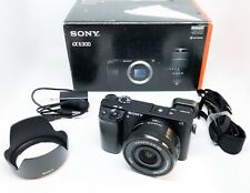 Sony A6300 4K 24.2 MP Mirrorless Digital Camera w/ 16-50mm Lens Low Counts 8328