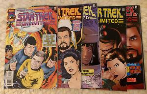 Marvel/Paramount Comics Star Trek Unlimited 1-10 Plus Extras Lot Of 15 Mirror