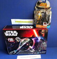 Star Wars Slave I Ship W/ Boba Fett Figure + Bossk & IG-88 2-Pack Figures - New