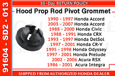 Genuine OEM Honda Accord Civic Hood Prop Rod Pivot Grommet (91604-SD2-013)