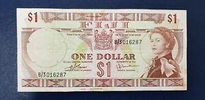 Fiji - 1 Dollar 1974 Banknote P-71b, Queen Elizabeth II