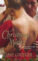 A Christmas Waltz: Zebra Historical Romance Jane Goodger Paperback Book