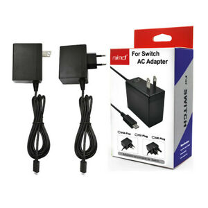 Wall Charger for Nintendo Switch Portable AC Adapter with Power Cord US