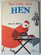 THE LITTLE RED HEN Retold by Doris R. Miller HC 1st Holly Edition 1966 ILLUS AA1
