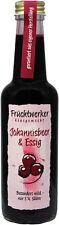 250  Milliliter (ml)  Fruchtwerker   Schwarze Johannisbeere & Essig