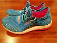 ADIDAS PURE BOOST X AQ6698 Womens Athletic Shoes Sneakers Blue Pink Size 11