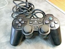Official OEM Sony Playstation 2 PS2 Original Dualshock 2 Black Controller AWESOM