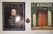 DE GAULLE : NUMERO SPECIAL HORS SERIE PHOTO + MEDAILLE + LA BOISSERIE