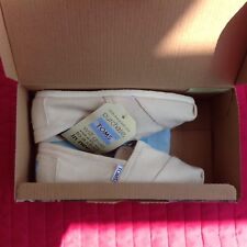 Womens Toms Seasonal Classic Slip On Light Beige Flats. Bnib, 2Uk