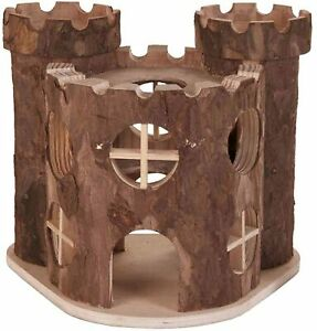 Trixie 6168 Natural Living Play Castle 17×15×12 cm Small Animal House Pet Rodent