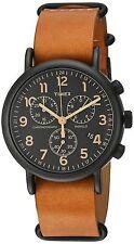 Timex Unisex Weekender Chrono Oversize Slip-Thru Strap Watch