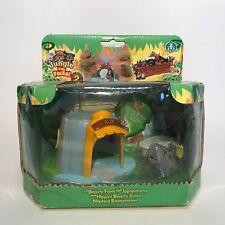 The original Jungle in My Pocket series 2-baño hipopótamo Ally
