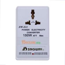 150W Watt 220V to 110V Step Up/Down Voltage Converter Transformer Power Adapter
