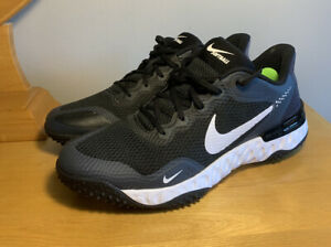 NEW Nike Turf Softball Shoes Alpha Huarache Elite Black CU8403-001 Women Size 12