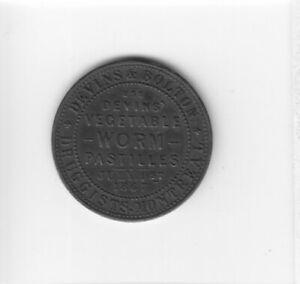 1867 DOMINION CANADA DEVINS & BOLTON ADVERTISING TOKEN COIN