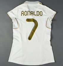 CRISTIANO RONALDO REAL MADRID 2011-12 Women L Lady Jersey Shirt Camiseta