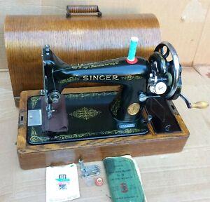Singer 99, 99K Hand crank Vintage Sewing Machine