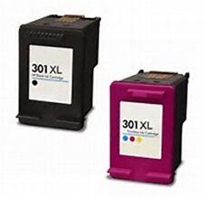 COMPATIBLE 2 INK CARTRIDGE PACK - HP DESKJET 1000/1010/1050/1510/2000 (301XL)