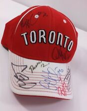 Signed Toronto Raptors Cap Hat Basketball Collectible 2010 Chris Bosh