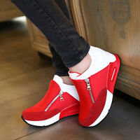 Womens Platform  Casual Shoes Muffin Sport Sneakers Jian