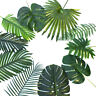 Tropical Palm Leaves Artificial Plant Simulation Leaf Hawaiian Party Decoration