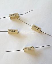 1 Ohm 5W 10% (10 pcs) Wirewound Cermet Resistor Axial Lead / 5 Watt 1ohm