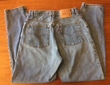 VTG Womens Levis 550 SIZE 12M High Waist Jeans Relaxed Fit Tapered Leg Made USA
