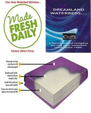 One Time Offer-King/California King 98% Waveless Waterbed Mattress-Free Fedex