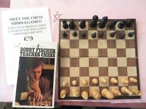 Vintage Allan Troy Chess Set-Ed #6 The Queen's Gambit: E.S Lowe Analysis set 2/3