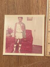 Vintage photo African American young man Basketball 1970's - read description