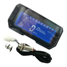 Universal Motorcycle LCD Digital Speedometer Odometer RPM Tachometer KM/H MPH