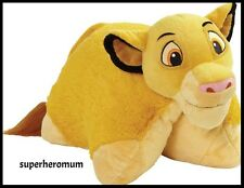 "SIMBA - THE LION KING DISNEY PILLOW PET SOFT PLUSH 40CM 16"" - NEW"