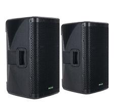 "2x DJ PA 12"" Aktiv Lautsprecher Set Box Bluetooth Monitor Bi-Amping Stereo 2000W"