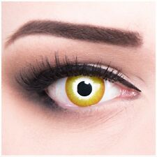 """Coloured Contact Lenses """"Sun Burst"""" Contacts Color Carnival + Free Case"""
