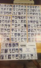 Promotional baseball cards