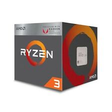 AMD Ryzen 3 3200G 4-Core Unlocked Processor with Radeon Graphics YD3200C5FHBOX