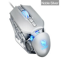 6400DPI LED Optical USB Wired Gaming Mouse 7 Buttons PC Gamer Computer Mice