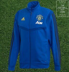 adidas Manchester United Presentation Jacket Mens - Man Utd Track Top  All Sizes