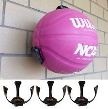 3x Ball Claw Basketball Ball Hand Holder Wall Mount Display Case Organizer