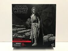 "Star Wars Black Series 6"" Deluxe Luke Skywalker (Jedi Master) Target Exclusive"
