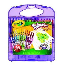 Crayola Mini Twistables Crayon & Paper Set (Crayola Twistable Crayons)