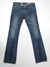 Women's AG Adriano Goldschmied ANGEL Bootcut Boot Cut Medium Wash Jeans 26 x 32